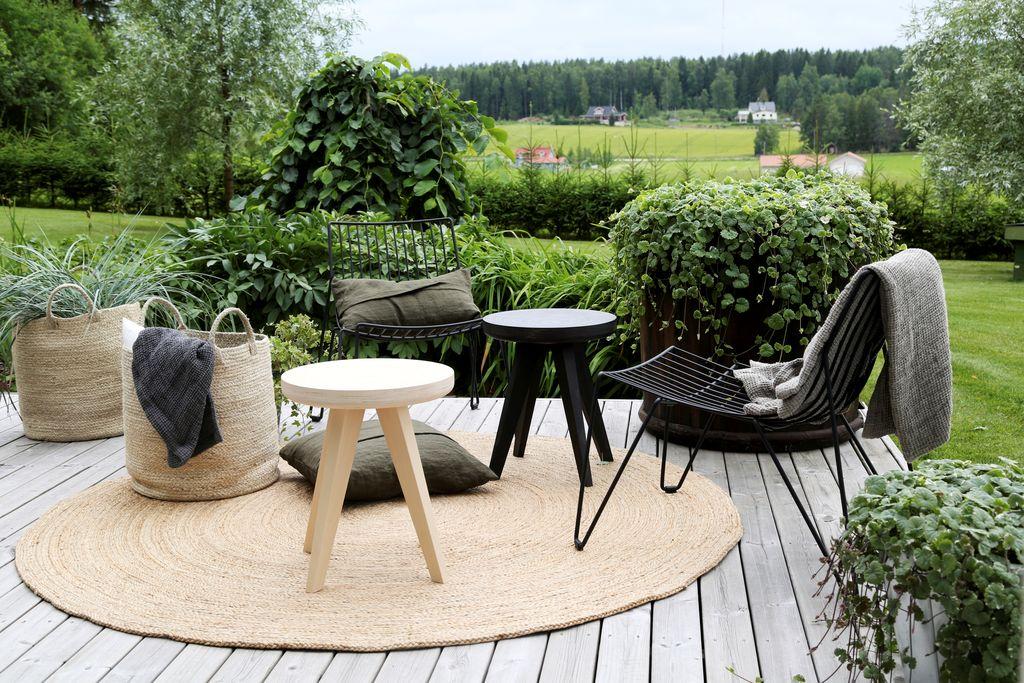 Muotoilijan moderni puutarha on esteetikon unelma | Koti & Keittiö